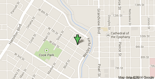 We are located at 301 West 7th Street, Sioux City, IA 51103
